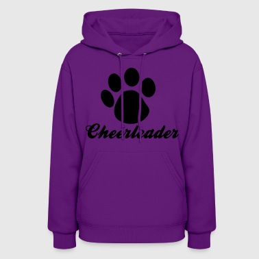 Cheerleader cheerleader paw - Women's Hoodie