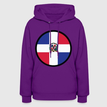 Circle Dominican Republic (dd)++ - Women's Hoodie
