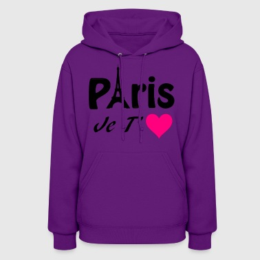 Eiffel Tower Paris, I love you! - Women's Hoodie