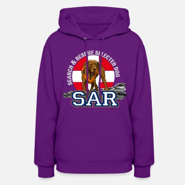 Search Search and Rescue Dog1 - Women's Hoodie