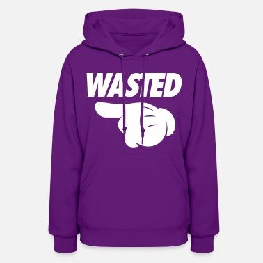 Pointing Left Wasted Pointing Left - Women's Hoodie