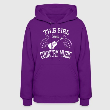 Country Music - Women's Hoodie