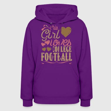 College Football College Football Shirt Gift - Women's Hoodie