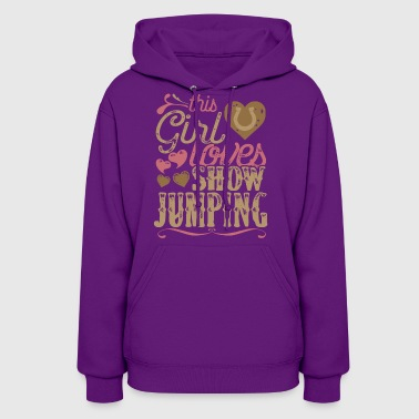 Horse Show Jumping Horses - Women's Hoodie
