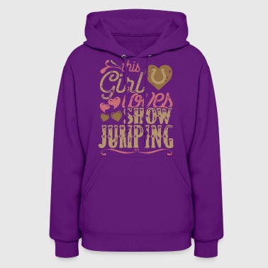 Show Jumping Horse Show Jumping Horses - Women's Hoodie