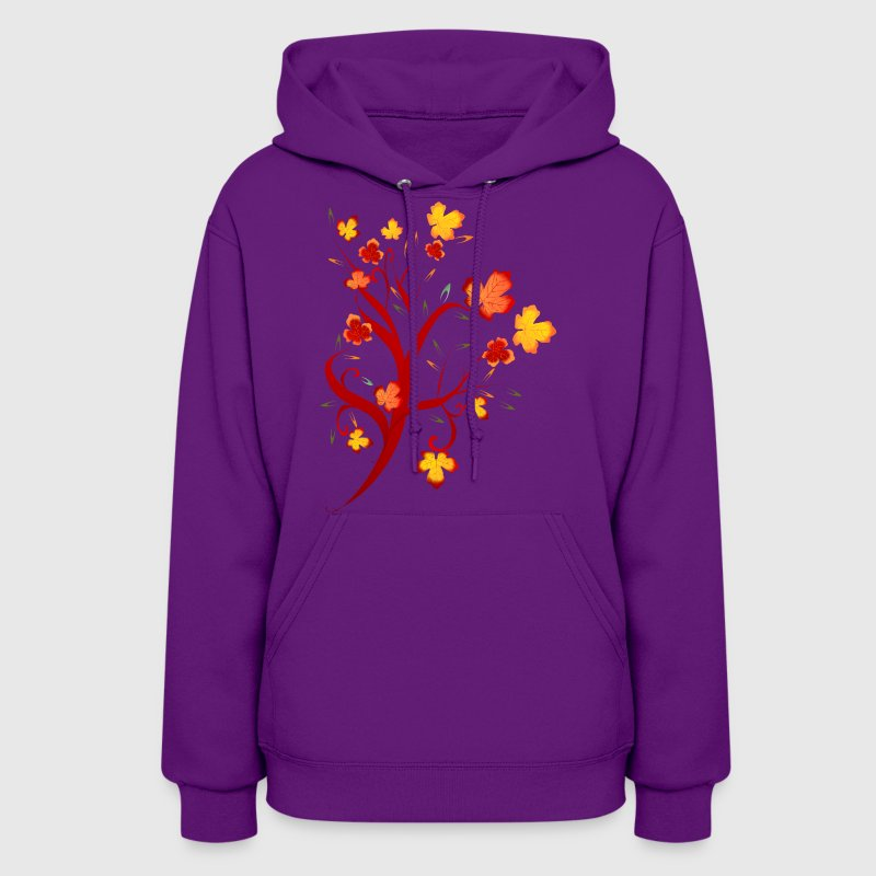 Autumn Tree Design - Women's Hoodie