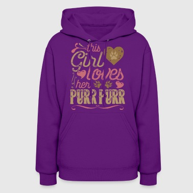 This Girl Loves her Purr Purr - Women's Hoodie