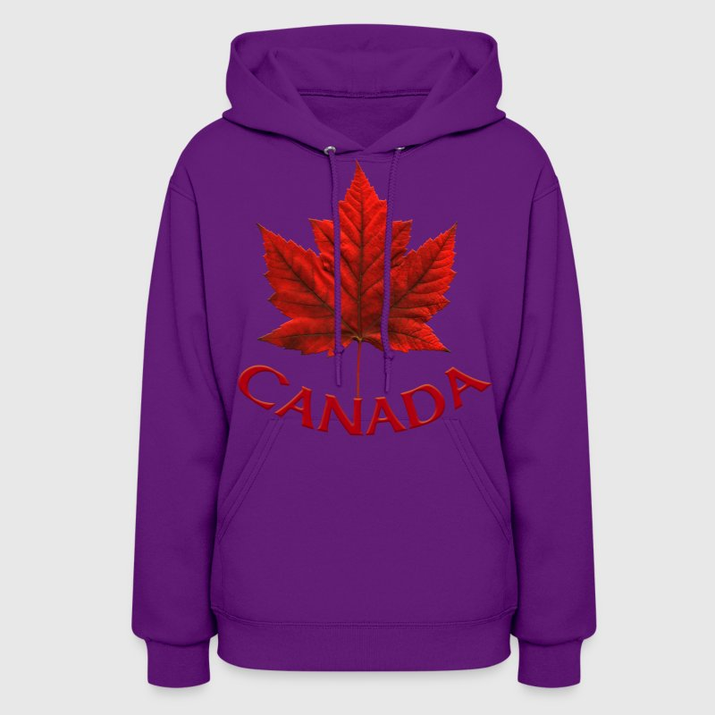 Canada Souvenir Maple Leaf Art Gifts - Women's Hoodie