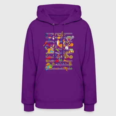 Concert of Animals - Women's Hoodie