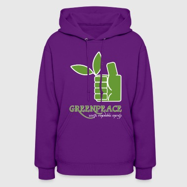 Greenpeace Greenpeace 100 renewable energy - Women's Hoodie