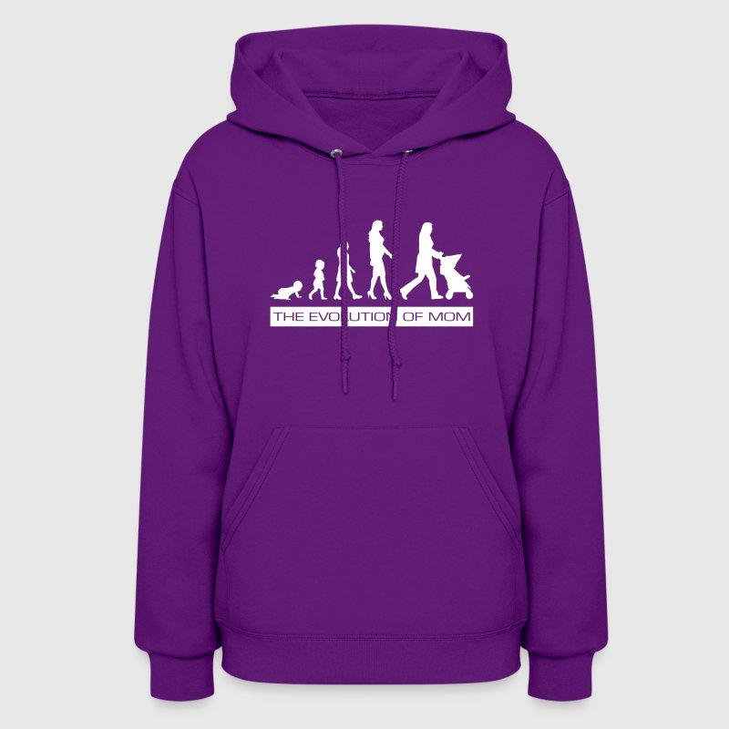 The Evolution of Mom - Women's Hoodie
