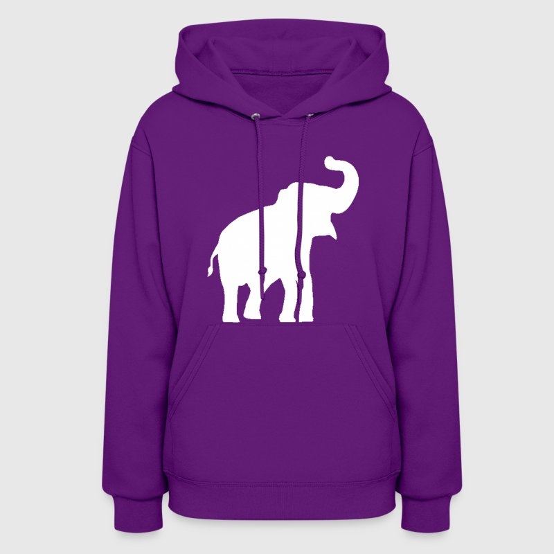 White Elephant Design - Women's Hoodie