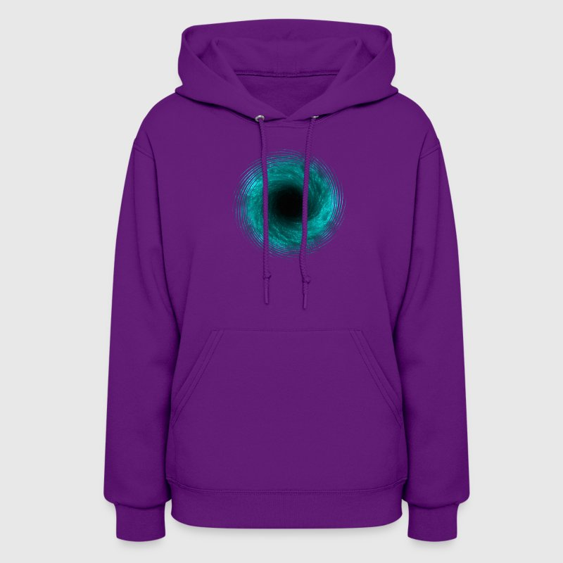 black hole - connection to infinity - Women's Hoodie