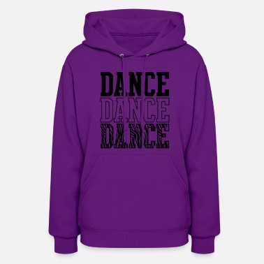 Purple Dance Zebra Times Three - Women's Hoodie
