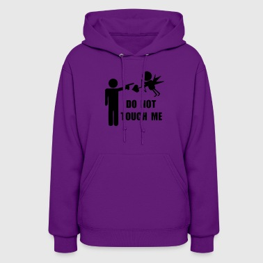 Do Not Touch Me Amor Angel - Women's Hoodie