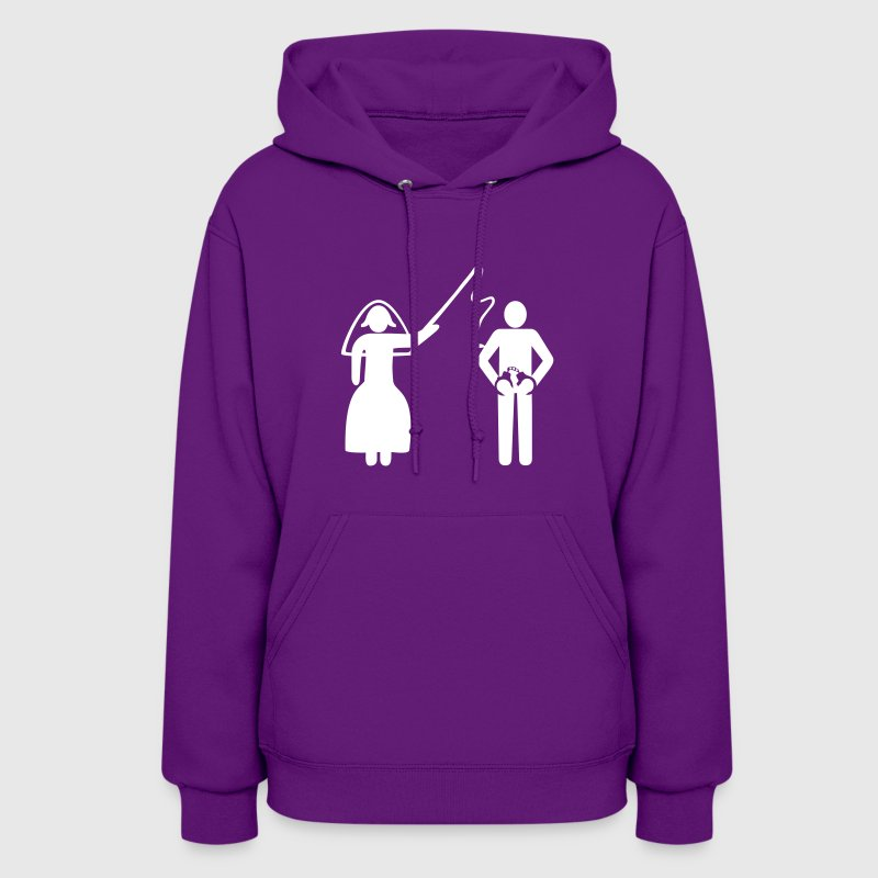 just married - Women's Hoodie
