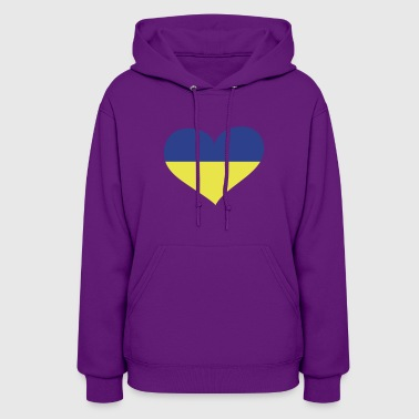Ukraine Heart; Love Ukraine - Women's Hoodie