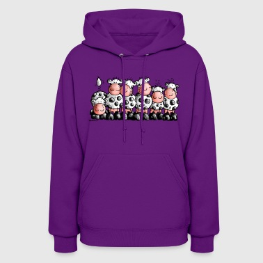 Funny Cows - Cow - Women's Hoodie
