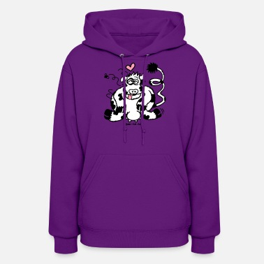 Cow Unbridled Cow's Passion - Women's Hoodie