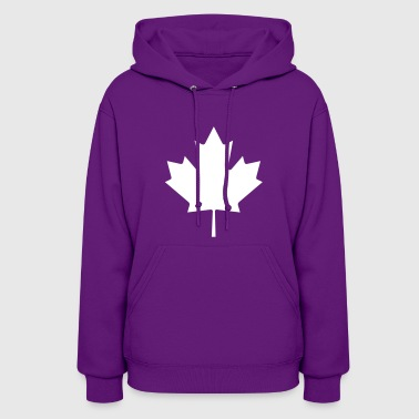 Canadian Maple Leaf - Women's Hoodie
