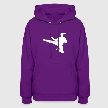 Martial Arts fighter - woman - Women's Hoodie