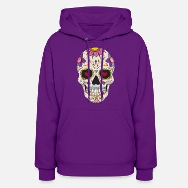 Day Of The Dead Sugar Skull - Day of the - Women's Hoodie