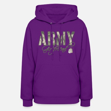 Army Girlfriend- Dog Tags - Women's Hoodie