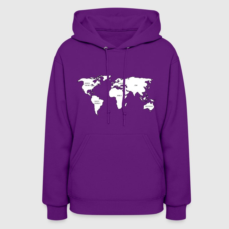 World map - Women's Hoodie