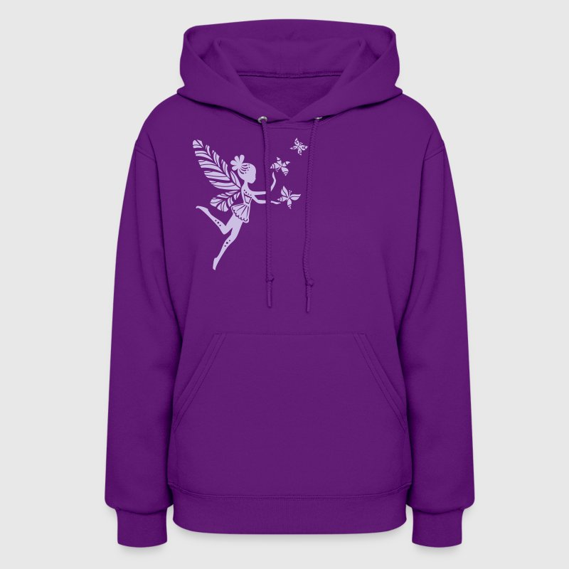 fairy, pixie, magic, butterfly, summer, fantasy - Women's Hoodie