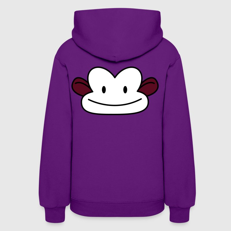 monkey cute face - Women's Hoodie
