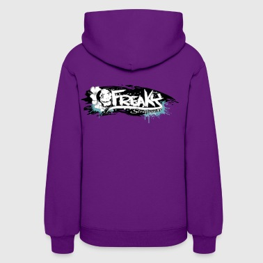 Freaky Streetwear Label print brush - Women's Hoodie