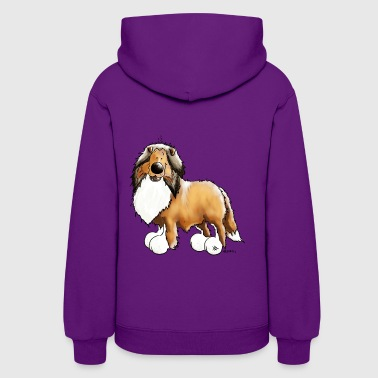 Knuffiger Collie - Rough Collie - Women's Hoodie