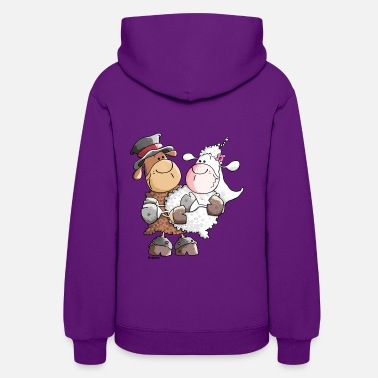 Groom Woolly bride and groom - Women's Hoodie