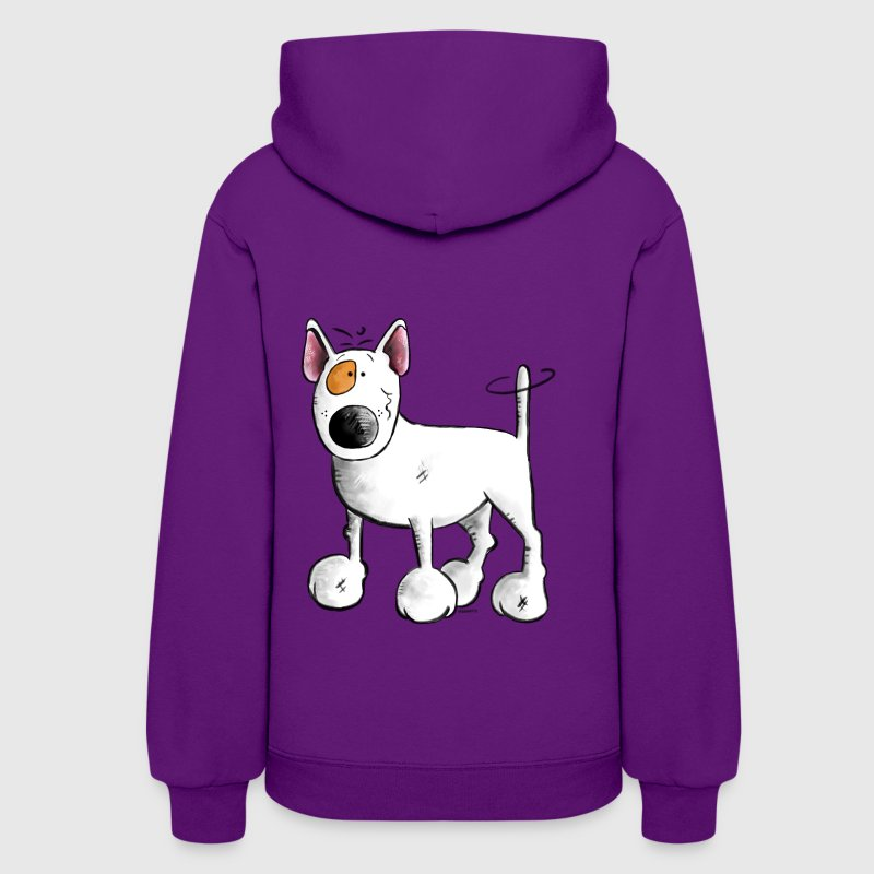 Funny English Bull Terrier- Bullterrier - Women's Hoodie