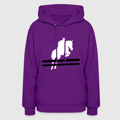 Horse fur rider hooves riding pony farm wit humor - Women's Hoodie