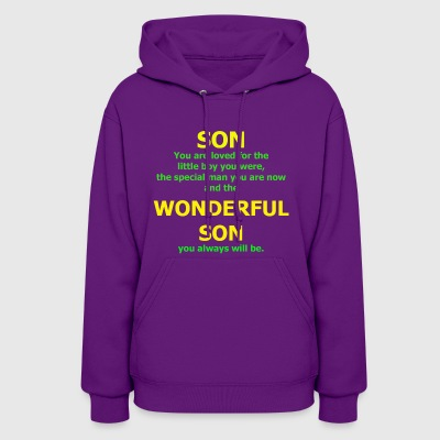 Son You are Loved For The Little Boy You Were - Women's Hoodie