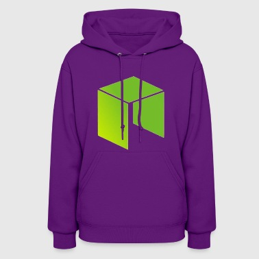 Neo Cryptocurrency logo - Women's Hoodie