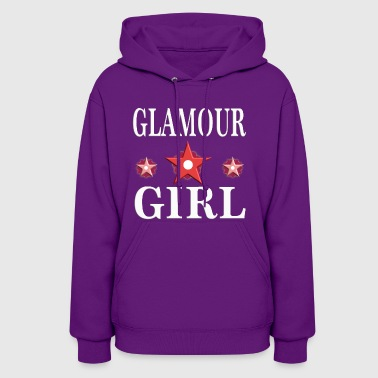 Glamour Girl woman girly birthday gift 3 - Women's Hoodie