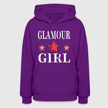 Glamour Girl woman girly birthday gift 2 - Women's Hoodie