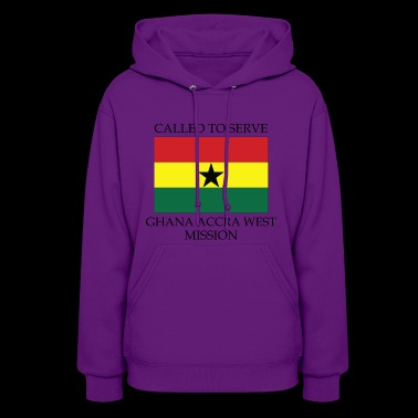 Ghana Accra West LDS Mission Called to Serve - Women's Hoodie
