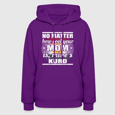 no matter mom cool mutter gift kurdistan kurde png - Women's Hoodie