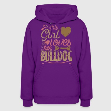 Bulldog Dog Shirt Gift Dogs - Women's Hoodie