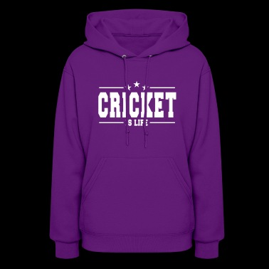 Cricket is life 1 - Women's Hoodie