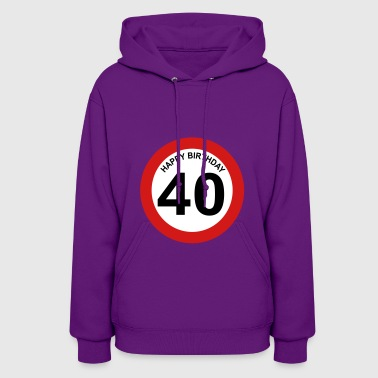 40th birthday - Women's Hoodie