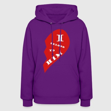 Valentine is coming: show your love - Women's Hoodie
