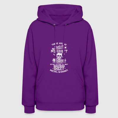 Master of crafts - Sheet metal worker - Shirt gift - Women's Hoodie