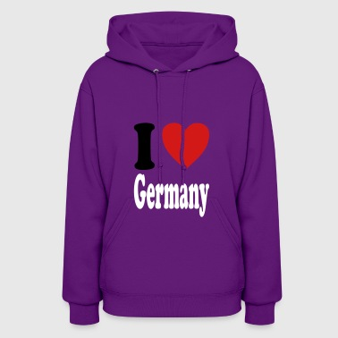 I love Germany (variable colors!) - Women's Hoodie