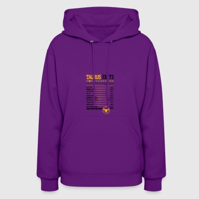 Taurus Facts Servings Per Container - Women's Hoodie
