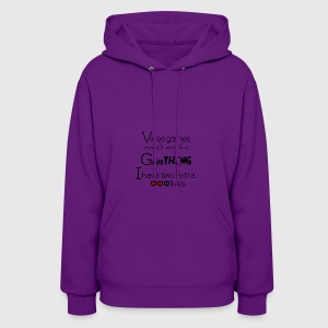 Video games ruined my life - Women's Hoodie