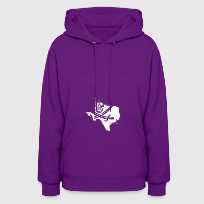 Pirate Texas Jolly Roger - Women's Hoodie